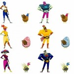 Guacamelee's first add-on complete with costumes and trophies